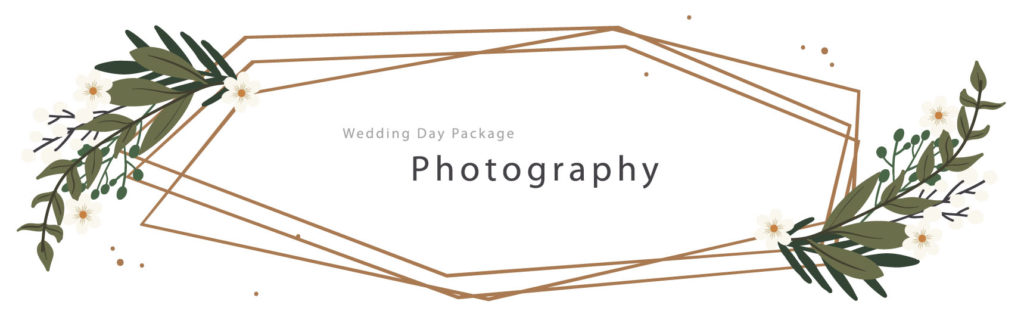 Wedding Day photography Package